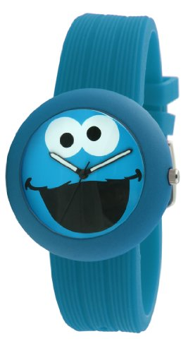 Sesame Street SW614CM Cookie Monster Rubber Watch