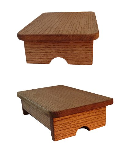 Foot Stool Maple Stain