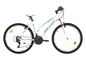 Bikesport KAROLINA Ladies Mountain Bike 26 inch wheels Alloy Frame Shimano 21 sp.
