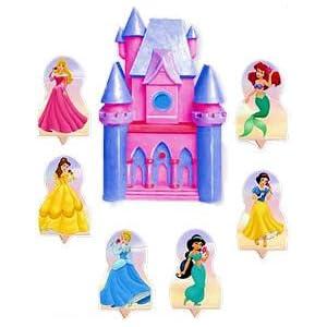 Disney Princess cake toppers set!