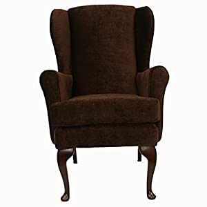 Cavendish Orthopedic High Seat Chair (21  SEAT HEIGHT)   BROWN (Chocolate)   FROM OUR BEST SELLING RANGE       reviews and more information