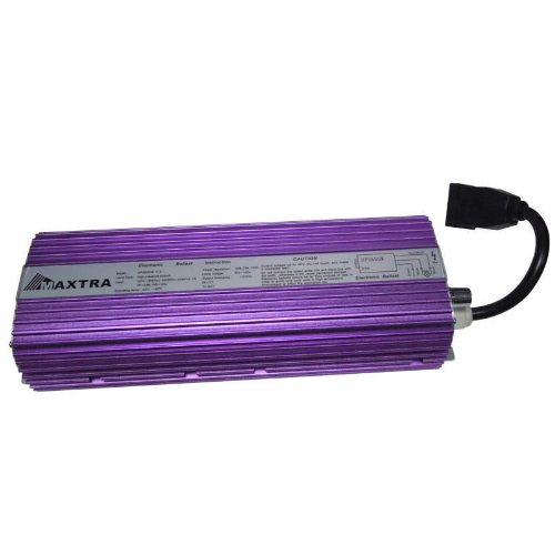 Maxtra® Brand New 600W Digital Dimmable HPS MH Bulb HYDROPONICS Grow Light Ballast