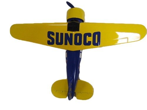 sunoco-airplane-bank-collector-series-lockheed-vega-2-limited-edition-die-cast-by-spec-cast-by-spec-