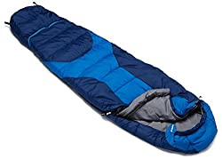 Deuter Kid's Starlight Exp Sleeping Bag, 190 cm (Sky Cobalt)