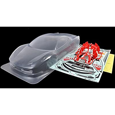 Rc Spare Parts No.1526 Sp.1526 Ferrari 458 Challenge Spare Body Set 51526