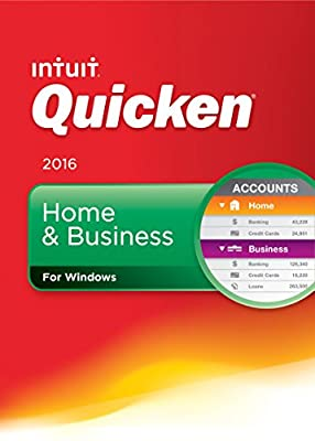 Quicken Home & Business 2016 - CD or Download