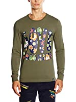 Love Moschino Camiseta Manga Larga (Verde)