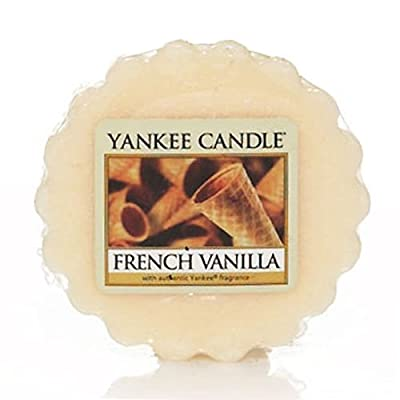 French Vanilla 10 Wax Tarts from Yankee Candle