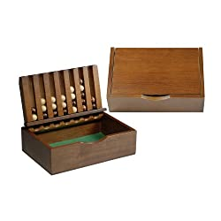 Wood Captain's Mistress Game (4-in-a-Row) - Small
