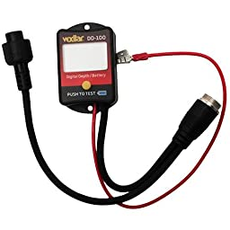Vexilar DD-100 Digital Depth and Battery Gauge