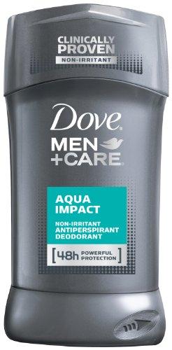 Dove Men+Care Antiperspirant & Deodorant, Aqua Impact 2.7 Ounces