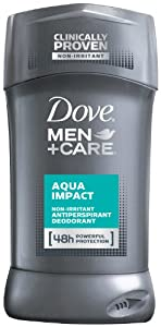 Dove Men+Care Antiperspirant & Deodorant, Aqua Impact 2.7 Ounces