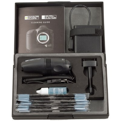 Delkin DigitalDuster Kit – Vacuum, Wands & Solution