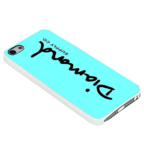 Diamond Supply Co Teal for Iphone Case (iphone 6 plus white) (Diamond Supply Co Cover compare prices)