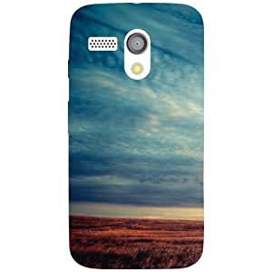 Motorola Moto G Back Cover - Sea Love Designer Cases