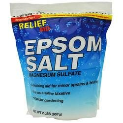 Relief MD, Epsom Salts, 2-Lbs