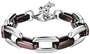 Esprit - ESBR11599B18 - Marin Coffee - Bracelet Chaine Femme - Argent 925/1000 40.2 gr - 21 cm