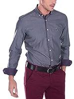 SIR RAYMOND TAILOR Camisa Hombre Bite (Azul Grisáceo)
