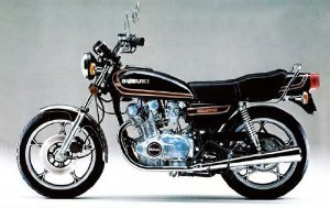 1/12 Suzuki GS400E II (Model Car) Aoshima Naked Bike|No.60