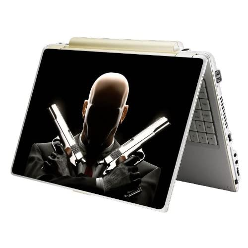 Bundle Monster MINI NETBOOK Laptop Notebook Skin Sticker Cover Art Decal   7 8 9 10   Fit HP Dell Asus Acer Eee Compaq MSI   Hit Man