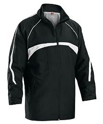 Boy\'s Xara Genoa Jacket, Black/White - Youth Large