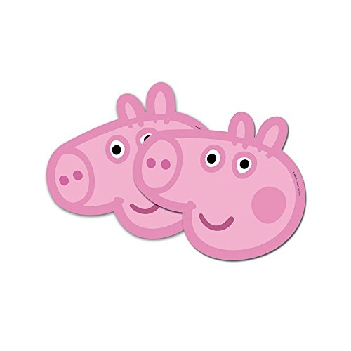 Peppa Pig Masks (6 Pack) - 1