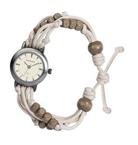 Kahuna - KLF-0005L - Montre Femme - Quartz Analogique - Bracelet Plastique Beige