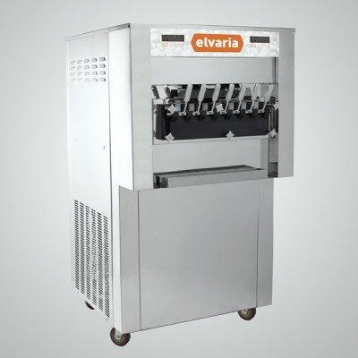 Elvaria 1021TW Through Wall Soft Serve Ice Cream / Frozen Yogurt Machine by Elvaria