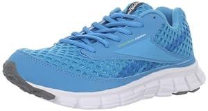 Reebok Women's Smoothflex Running Shoe,Blue/White/Grey/Green,7.5 M US