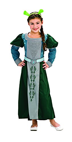 Shrek Child's Deluxe Costume, Princess Fiona Costume Toddler 2-4