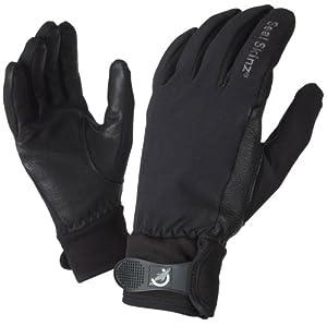 Sealskinz Ladies All Season Glove Black or Pink - 2012/2012 Model. (Black, Large)