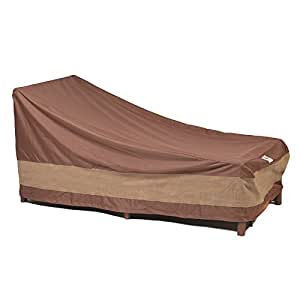 Duck Covers Ultimate Patio Chaise Lounge Cover 80 Inch Patio