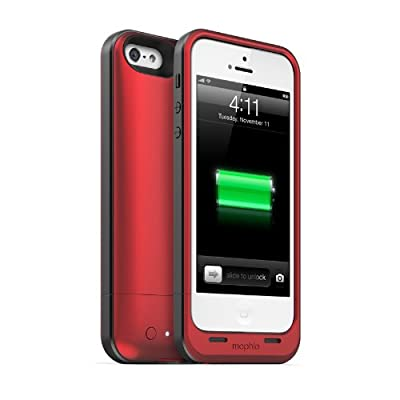 【日本正規代理店品】mophie juice pack air for iPhone 5 レッド MOP-PH-000032