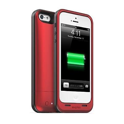 【日本正規代理店品】mophie juice pack air for iPhone 5 レッド MOP-PH-000032