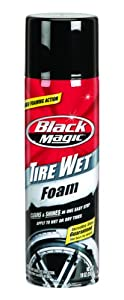 Black Magic (800002220-6PK) Tire Wet Foam - 18 oz., (Pack of 6) from Black Magic