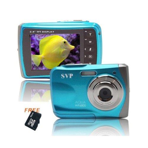 18MP Blue WP6800 (Micro 16GB) 2.4