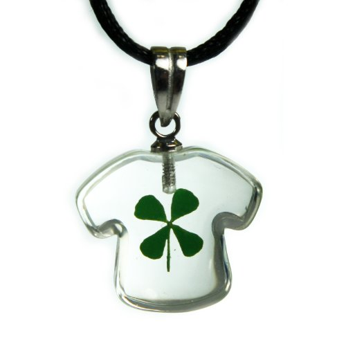 REALBUG Shamrock Necklace, T-shirt shaped