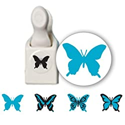 Martha Stewart Crafts Stamp &amp; Punch Pack Butterfly By The Each