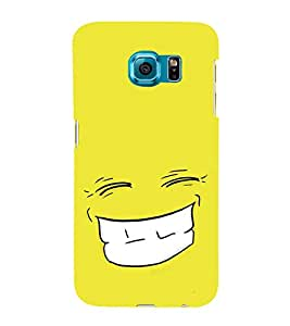 Grin 3D Hard Polycarbonate Designer Back Case Cover for Samsung Galaxy S6 Edge+ :: Samsung Galaxy S6 Edge Plus :: Samsung Galaxy S6 Edge+ G928G :: Samsung Galaxy S6 Edge+ G928F G928T G928A G928I