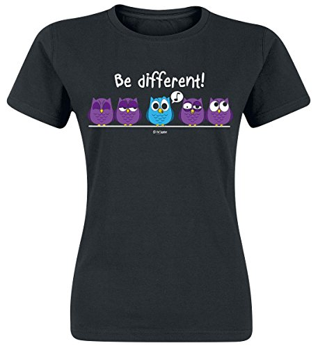 Be Different! Maglia donna nero XL