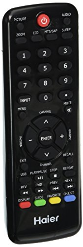 Haier TV-5620-129 Remote Control Htrd09 (Haier Tv Remote Control compare prices)