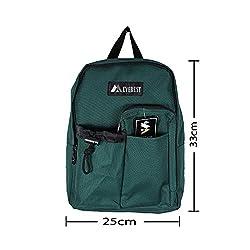 Everest Children School Bag 5L Green 2045WTGreen