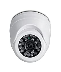 iBall CCTV 960P 1.3MP HD Resolution Digital Dome Camera with Day & Night Vision & IR Range upto 20Mtr. with 24 LEDs - iB-HDD932PM