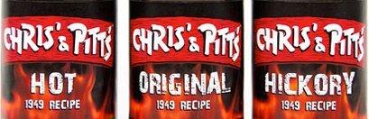 Chris' And Pitt'S BBQ Sauce - Variety Pack