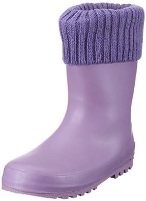 Playshoes 189325, Unisex - Kinder Stiefel, Violett (lila 19), EU 20/21