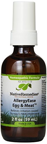 Native Remedies Allergyease, Egg and Meat, 2 Fluid Ounce
