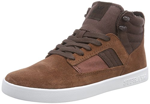 Supra BANDIT, Sneaker alta Unisex - adulto, Marrone (Braun (BROWN / CHOCOLATE -  WHITE   BRC)), 42