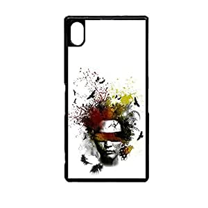 Vibhar printed case back cover for Sony Xperia Z5 BlindFold