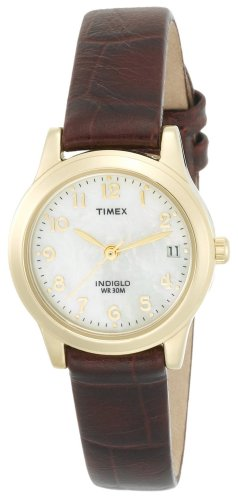 Timex Women's T21693 Classic Leather Strap Watch