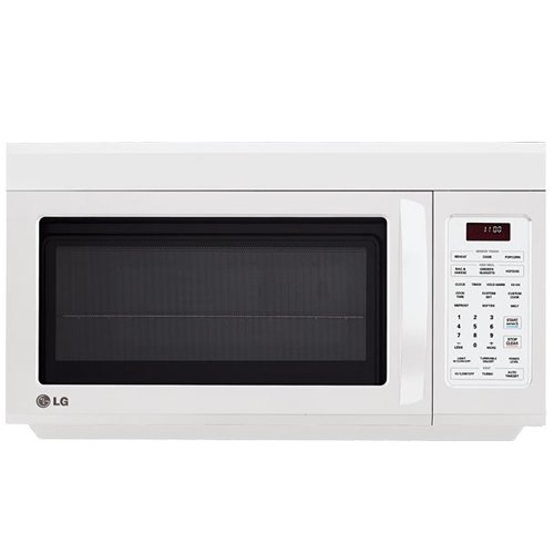 LG OTR 1.8 CF 1100-Watt Microwave, White (Microwave Built In White compare prices)